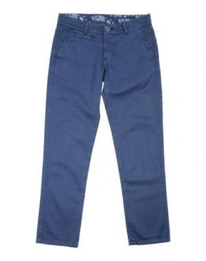 Повседневные брюки CIRCOLO 1901. Цвет: синий