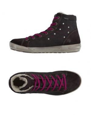 Высокие кеды и кроссовки SUPERFIT. Цвет: стальной серый