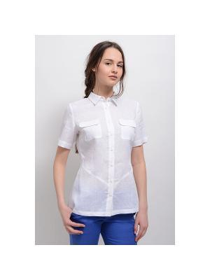 Блуза Эмилия LINO RUSSO. Цвет: белый