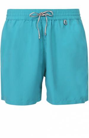 Плавки-шорты с карманами Loro Piana. Цвет: бирюзовый