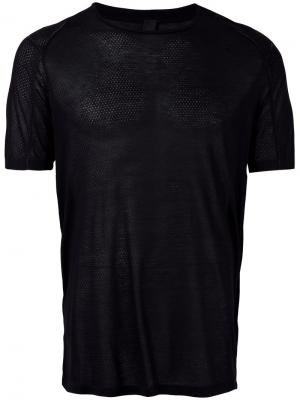 Semi-sheer T-shirt Tom Rebl. Цвет: чёрный