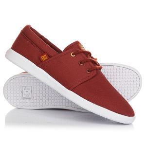 Кеды кроссовки низкие DC Haven Brown Shoes. Цвет: коричневый