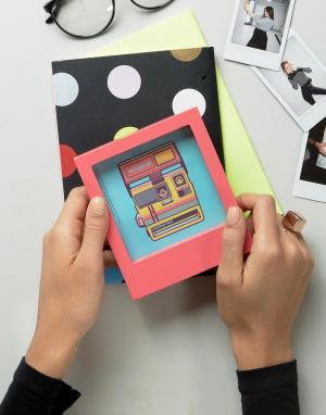 Polaroid Фоторамка 4x4. Цвет: розовый