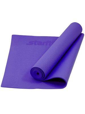 Коврик для йоги STARFIT FM-101 PVC 173x61x0,3 см, фиолетовый. Цвет: фиолетовый
