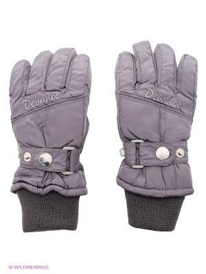 Перчатки Devance. Цвет: темно-серый