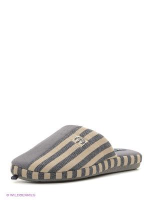 Тапочки De Fonseca. Цвет: серый, бежевый