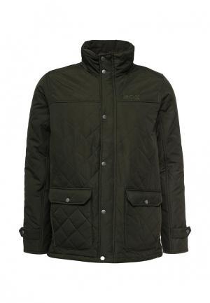 Куртка утепленная Regatta. Цвет: хаки
