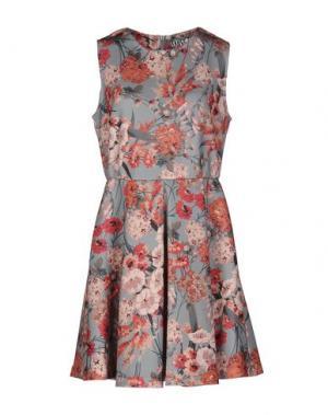 Короткое платье ANIYE BY. Цвет: небесно-голубой