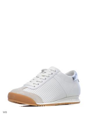 Кроссовки ASH. Цвет: белый, серебристый