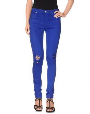 Джинсовые брюки HUDSON. Цвет: ярко-синий