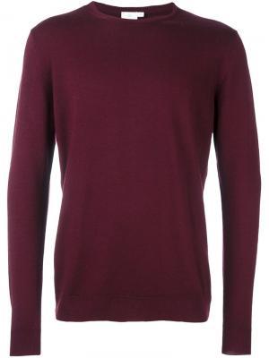 Пуловер L/S Sunspel. Цвет: красный