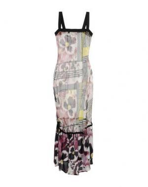 Длинное платье PIANURASTUDIO. Цвет: черный