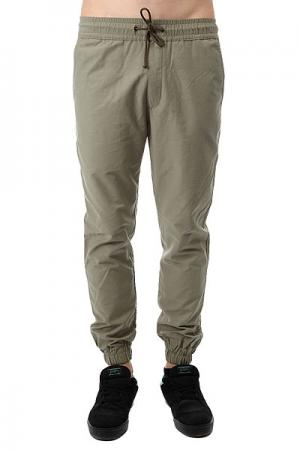 Штаны прямые  Simple Joggers Olive Anteater. Цвет: зеленый