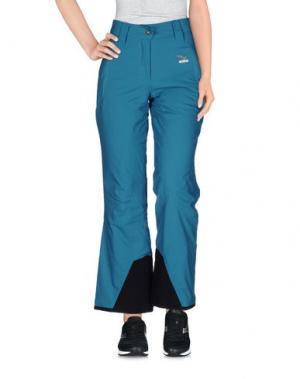Лыжные брюки SALEWA. Цвет: бирюзовый