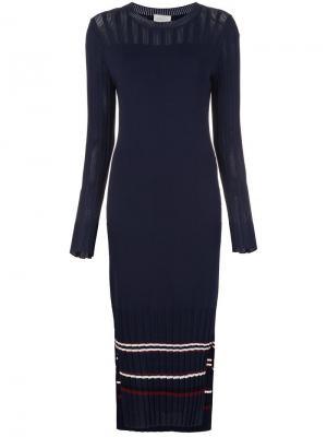 Вязаное платье длины миди Grey Jason Wu. Цвет: none