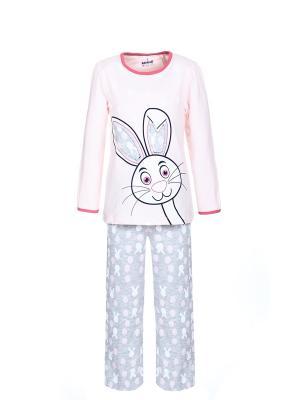 Пижама BAYKAR. Цвет: серый