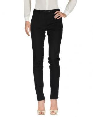 Повседневные брюки FEDELI. Цвет: черный