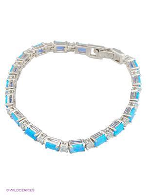 Браслет BALEX. Цвет: голубой, серебристый, синий