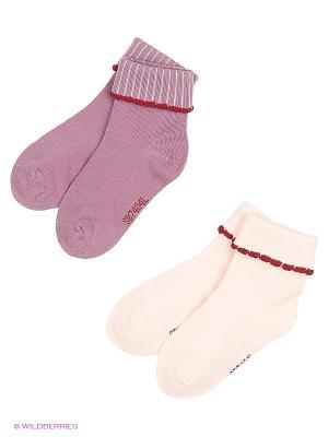Носки (2 шт) Senbodulun. Цвет: розовый