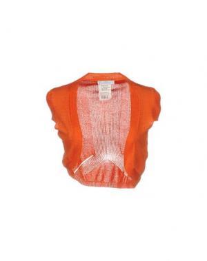 Болеро VERSACE COLLECTION. Цвет: оранжевый