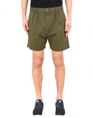 Повседневные шорты YMC YOU MUST CREATE. Цвет: зеленый-милитари