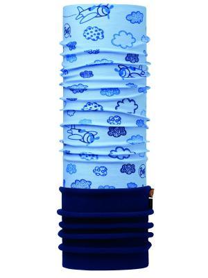 Бандана BABY POLAR CLOUDS BLUE / NAVY Buff. Цвет: голубой, темно-синий