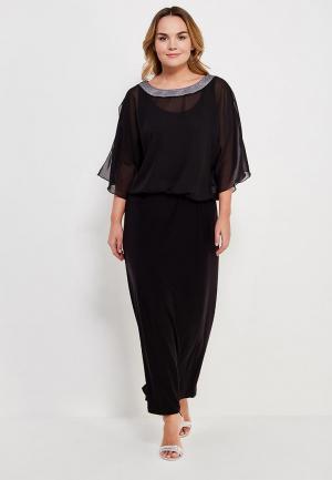 Комплект блуза и платье Lina. Цвет: черный