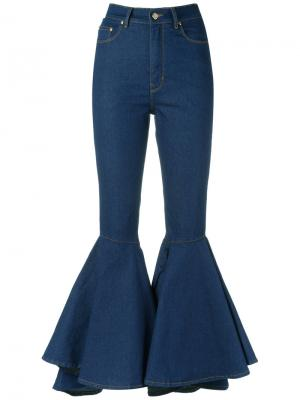 Denim flared culottes Amapô. Цвет: синий
