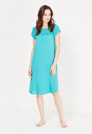 Платье домашнее Relax Mode. Цвет: бирюзовый