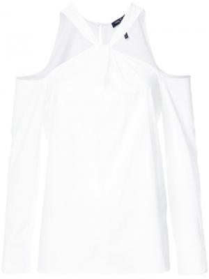 Блузка Collingwood Rag & Bone. Цвет: белый