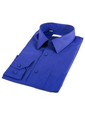 Рубашка Favourite. Цвет: темно-синий