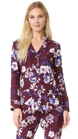 Блуза Annabelle Piamita. Цвет: floralia mora