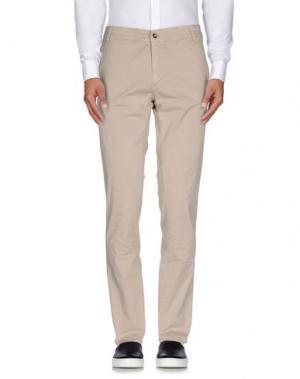 Повседневные брюки X-CAPE. Цвет: бежевый