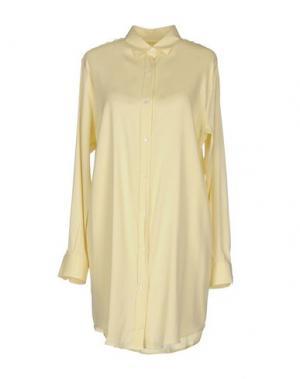 Короткое платье AMINA RUBINACCI. Цвет: желтый