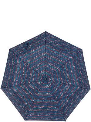 Зонт Labbra. Цвет: темно-синий, коралловый, светло-желтый