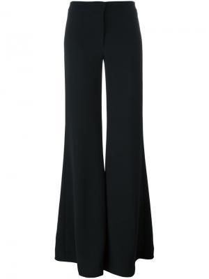 Классические расклешенные брюки Gareth Pugh. Цвет: чёрный