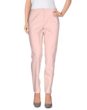 Повседневные брюки LES COPAINS. Цвет: телесный