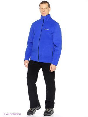 Куртка Shelter. Цвет: голубой