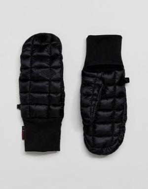 The North Face Черные перчатки rmoball. Цвет: черный