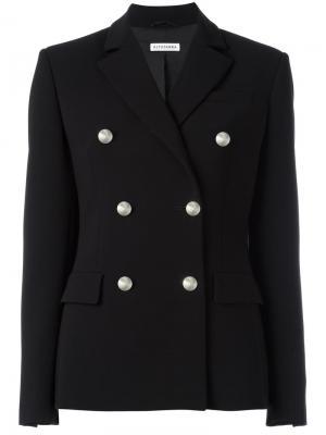 Double-breasted blazer Altuzarra. Цвет: чёрный