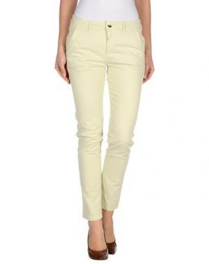 Повседневные брюки REIKO. Цвет: светло-зеленый