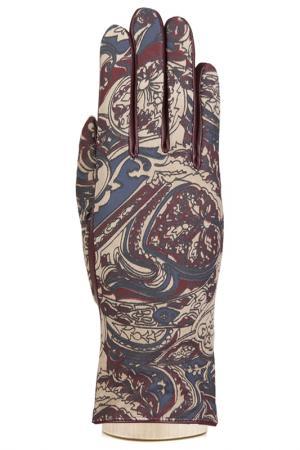 Перчатки Eleganzza. Цвет: бежевый, винный