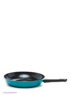 Сковорода Rainbow, 30 см. Frybest. Цвет: бирюзовый