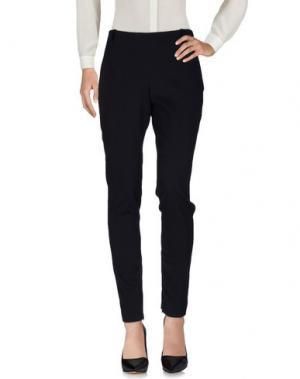 Повседневные брюки JI OH. Цвет: темно-синий