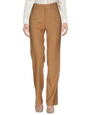 Повседневные брюки DRYKORN. Цвет: верблюжий