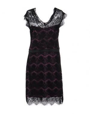 Платье до колена FRANCESCA FERRANTE. Цвет: черный