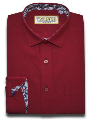 Рубашка Tsarevich. Цвет: красный