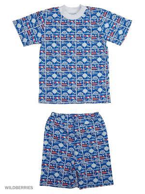 Пижама Милослава. Цвет: синий