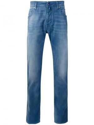 Классические джинсы Jacob Cohen. Цвет: синий