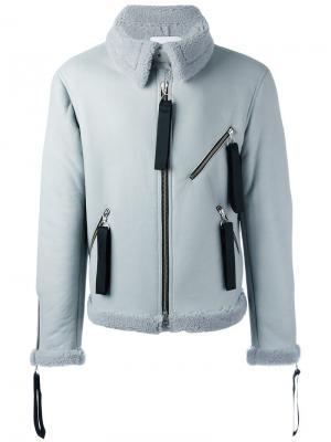 Куртка Hudson из овчины Matthew Miller. Цвет: синий